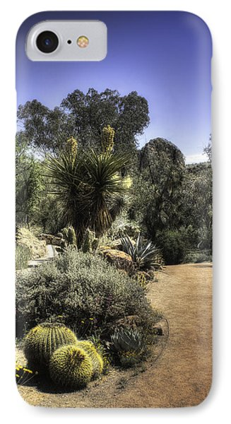IPhone Case featuring the photograph Desert Walkway by Lynn Geoffroy