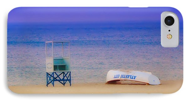 Deserted Beach IPhone Case by Bill Cannon