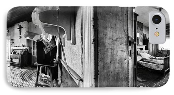 Deserted Interior Abandoned House - Urban Exploration IPhone Case
