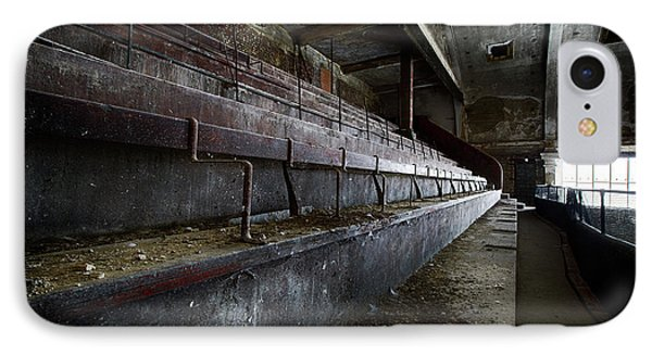 Deserted Theatre Steps - Urban Exploration IPhone Case by Dirk Ercken