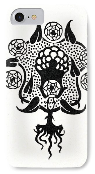 Design For The Front Cover Of Salome IPhone Case by Aubrey Beardsley