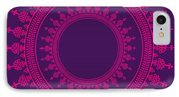 Design In Pink IPhone Case by Art Spectrum
