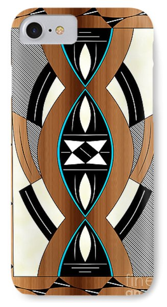 Southwest Collection - Design Two In Blue IPhone Case