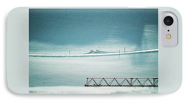 IPhone Case featuring the photograph Designs And Lines - Winter In Switzerland by Susanne Van Hulst