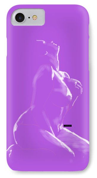 IPhone Case featuring the mixed media Desire by TortureLord Art