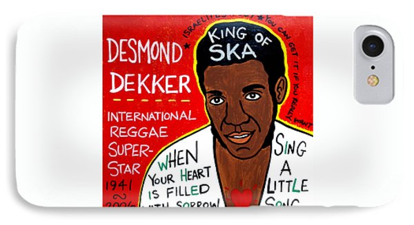 Desmond Dekker IPhone Case