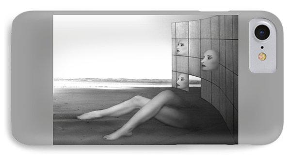 Desolate - Self Portrait IPhone Case by Jaeda DeWalt