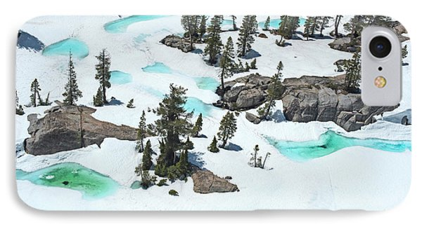 IPhone Case featuring the photograph Desolation Blue Ice by Brad Scott