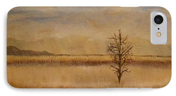IPhone Case featuring the painting Desolation by Lori Jacobus-Crawford