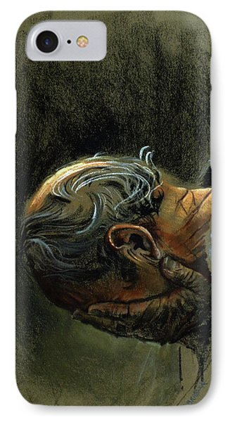 Despair. Why Are You Downcast? IPhone Case by Graham Braddock