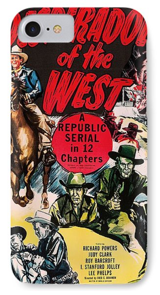 Desperadoes Of The West 1950 IPhone Case by Mountain Dreams