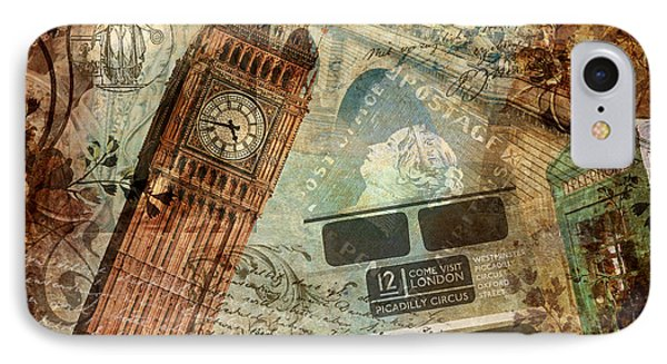 Tower Of London iPhone 7 Case - Destination London by Mindy Sommers