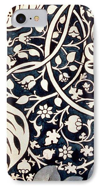 Detail Design For Avon Chintz IPhone Case by William Morris