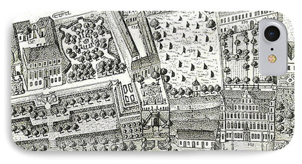 Detail Of A Map Of Vienna Showing 135 Alsergrund Where Mozart And His Family Lived During 1788  IPhone Case