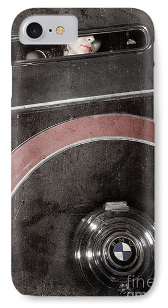 Detail Of A Vintage Car. IPhone Case by Andrey  Godyaykin