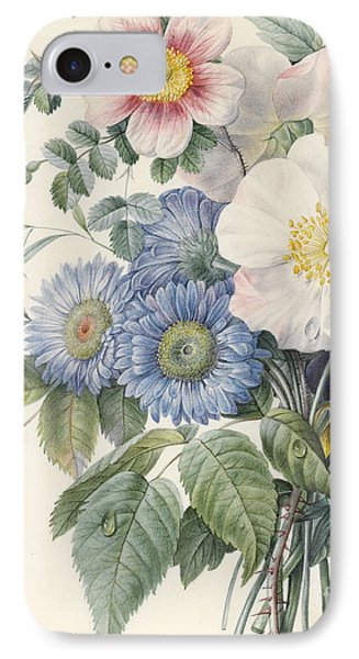 Detail Of Flowers IPhone Case by  Eugene A L d'Orleans