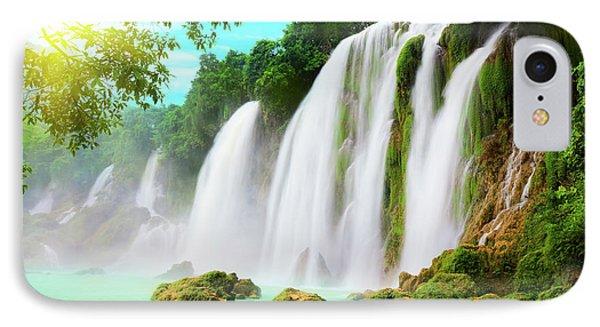 Detian Waterfall Phone Case by MotHaiBaPhoto Prints