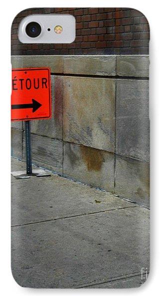 Detour  IPhone Case