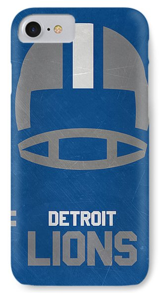 Detroit Lions Vintage Art IPhone Case