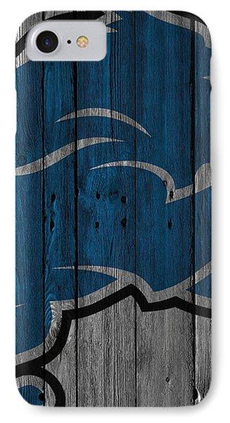 Detroit Lions Wood Fence IPhone Case by Joe Hamilton