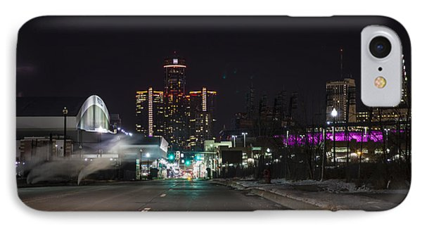 IPhone Case featuring the photograph Detroit Michigan by Nicholas Grunas