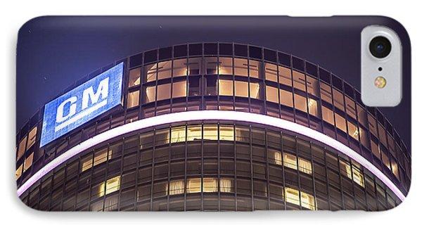 IPhone Case featuring the photograph Detroit Renaissance Center by Nicholas  Grunas