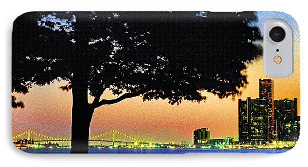 Detroit River View Phone Case by Dennis Cox WorldViews