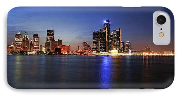 Detroit Skyline 1 Phone Case by Gordon Dean II