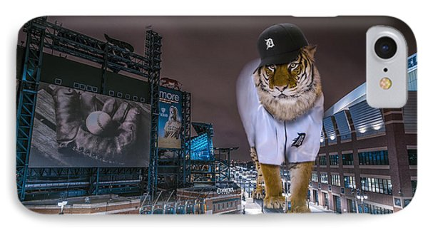 Detroit Tigers At  Comerica Park IPhone Case