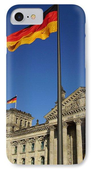 Deutscher Bundestag IPhone Case by Flavia Westerwelle