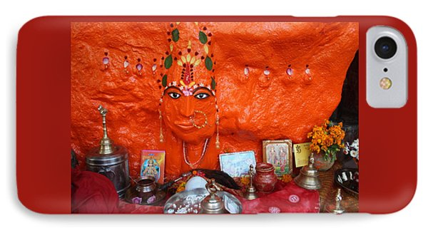 Devi Temple, Nanital IPhone Case