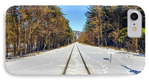 Devil's Lake Railroad Phone Case by Ricky L Jones