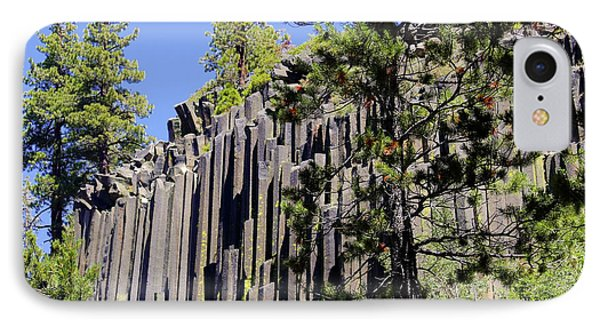Devils Postpile - America's Volcanic Past Phone Case by Christine Till
