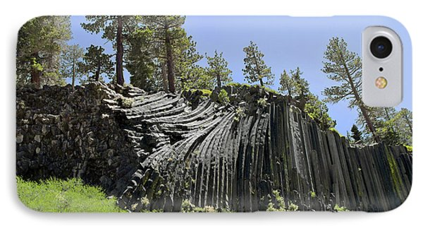 Devil's Postpile - Talk About Natural Wonders Phone Case by Christine Till