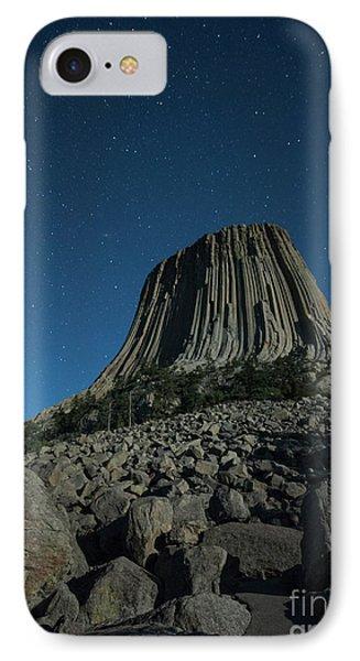 Devil's Tower IPhone Case by Juli Scalzi