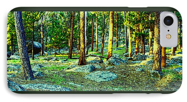 Devils Tower Morning IPhone Case by Dave Luebbert