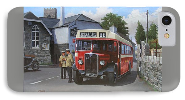 Devon General Aec Regal. Phone Case by Mike  Jeffries