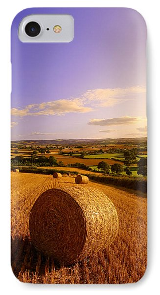 Devon Haybales IPhone Case by Neil Buchan-Grant