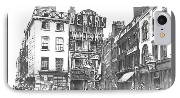 Dewars Whisky IPhone Case by Eileen Budd