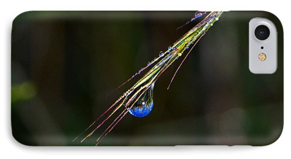 Dewdrop Reflection - Sunrise 001 IPhone Case by George Bostian