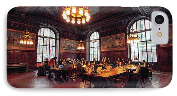 IPhone 7 Case featuring the photograph Dewitt Wallace Periodical Room by Jessica Jenney