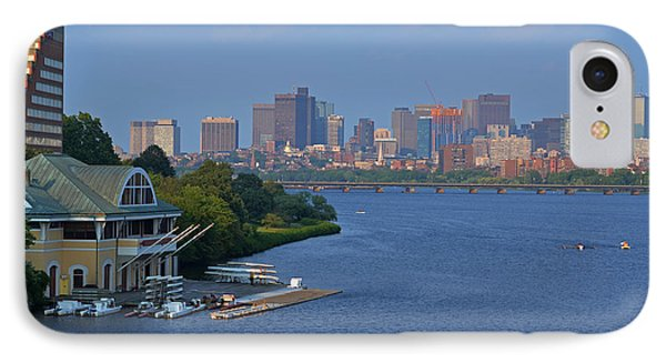 Dewolfe Boathouse Boston Ma IPhone Case by Toby McGuire