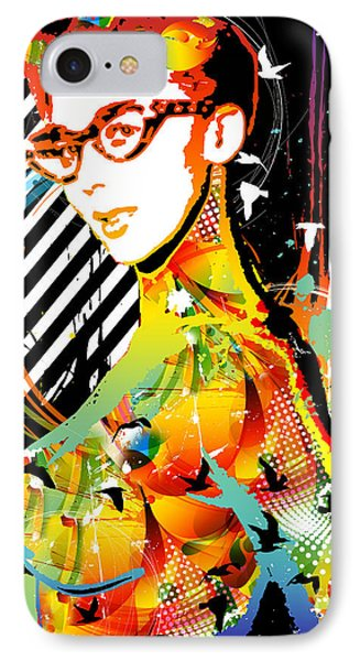 Dexterous Dame Phone Case by Chris Andruskiewicz
