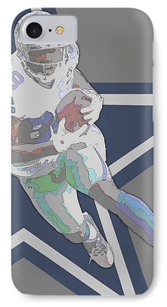 Dez Bryant Dallas Cowboys Contour Art IPhone Case