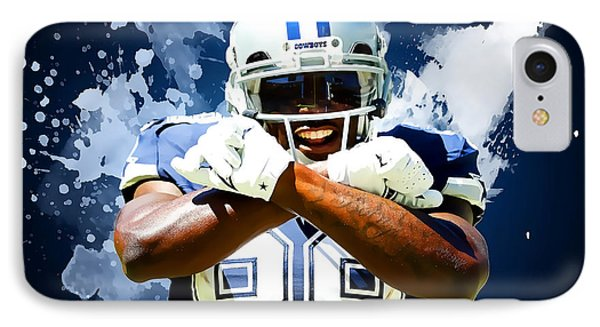 Dez Bryant IPhone Case by Semih Yurdabak