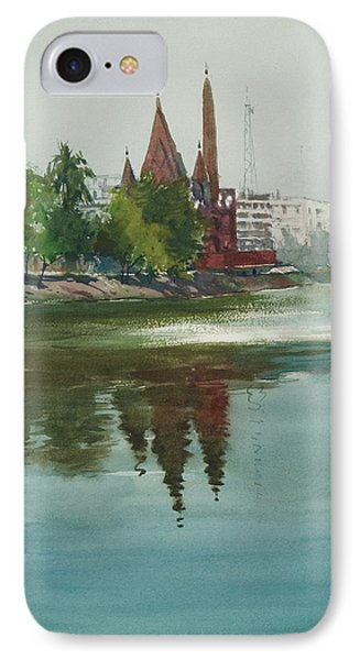 Dhanmondi Lake 04 IPhone Case by Helal Uddin