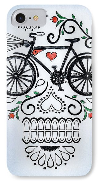 Muertocicleta IPhone Case by John Parish