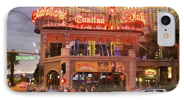 Diablo's Cantina In Las Vegas IPhone Case by RicardMN Photography