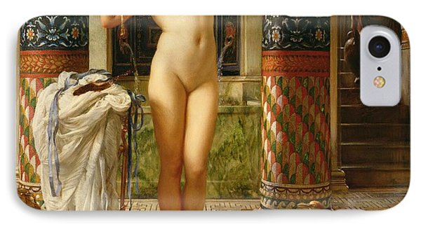 Diadumene IPhone Case by Sir Edward John Poynter