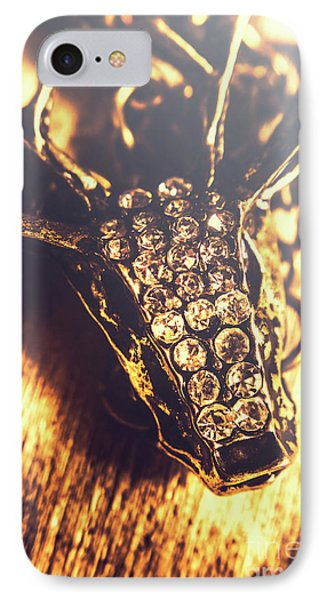 Diamond Encrusted Wildlife Bracelet IPhone Case by Jorgo Photography - Wall Art Gallery